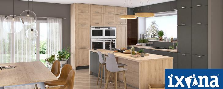 ixina cuisine expo. Black Bedroom Furniture Sets. Home Design Ideas