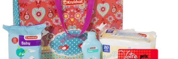 Pack naissance gratuit chez Kruidvat
