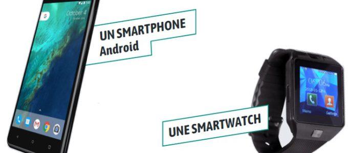 Recevez un smartphone ou une smartwatch pour 4€