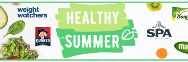 Healthy Summer : bons de réduction pour vos repas légers