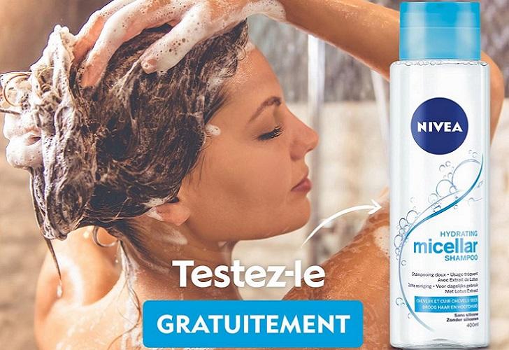 nivea shampoing micellaire