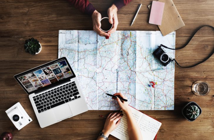 planifier voyage