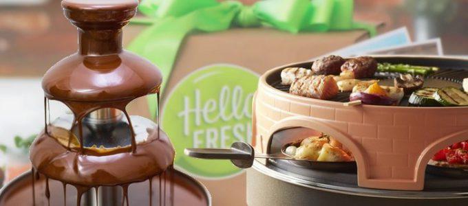 Gagnez une fontaine à chocolat Domo ou un grill Emerio