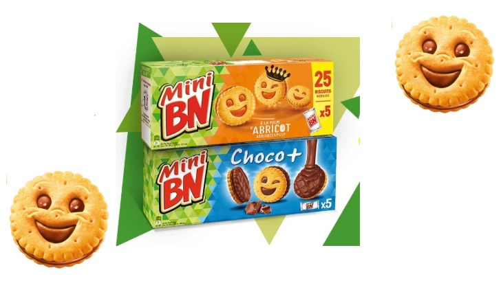 Biscuits mini BN