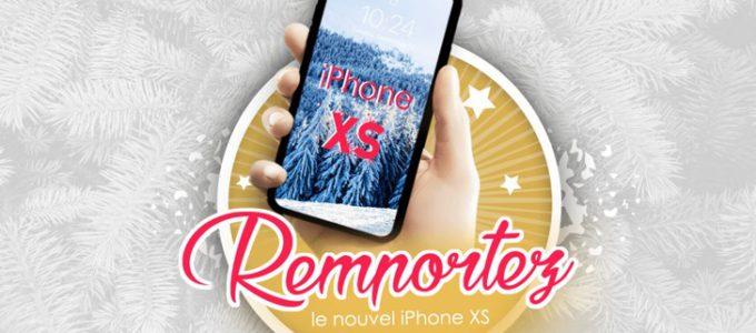 Gagnez le nouvel iPhone XS