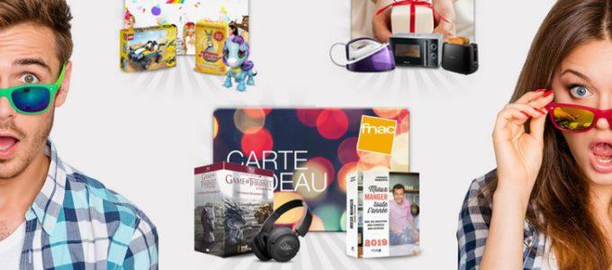 CONCOURS : chèques-cadeaux de 100€ à gagner