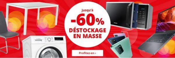 Grand déstockage Unigro et 150€ de chèques-cadeaux