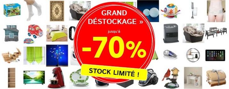 Unigro destockage