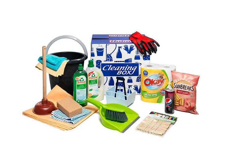 Cleaning box