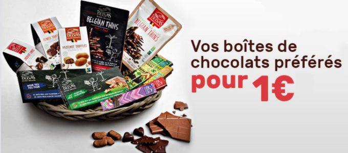 Boîtes de chocolats à seulement 1€