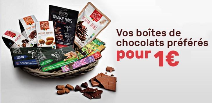 Chocolat 1€
