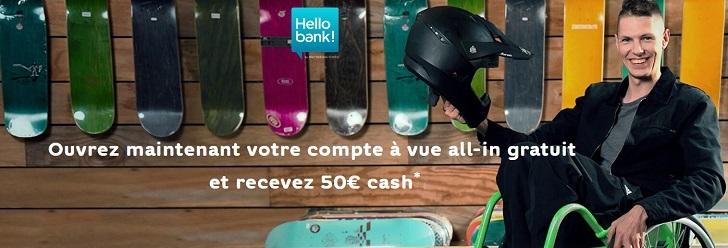 Hello bank 50€