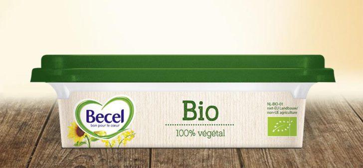 beurre becel bio
