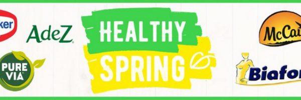 Healthy Spring : bons de réduction pour vos repas
