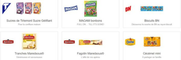 Réductions Shopmium : Tirlemont, BN, Maoam, Cécémel…