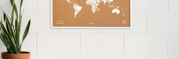 Concours : remportez une carte du monde Miss Wood