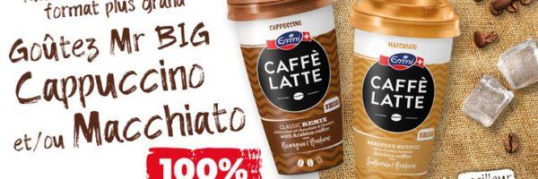 Café glacé Caffè Latte 100% remboursé