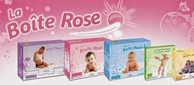 Coffrets gratuits de maternité La Boîte Rose