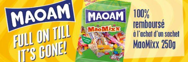 Bonbons MaoMixx 100% remboursés