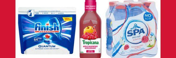 Produits Finish, Spa et Tropicana 100% remboursés
