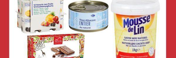 Chocolat, thon, yaourt et savon 100% remboursés