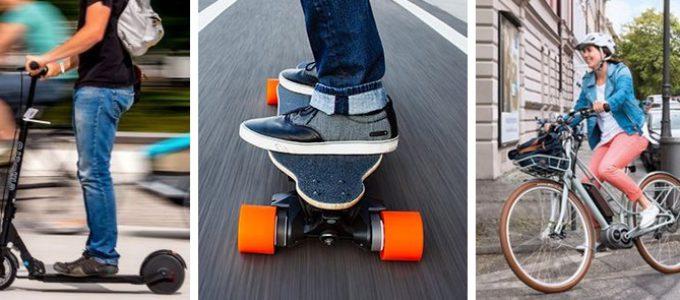 Vélo, trottinette ou skateboard électrique à remporter