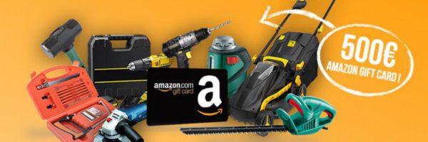 Gagnez une carte cadeau Amazon de 500€