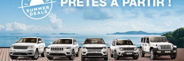 Testez gratuitement les nouveaux modèles Jeep