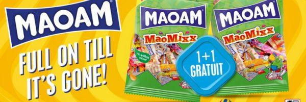 Sachet de bonbons MaoMixx 1+1 gratuit