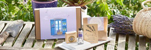 Coffret Bonjour Provence gratuit chez L'OCCITANE