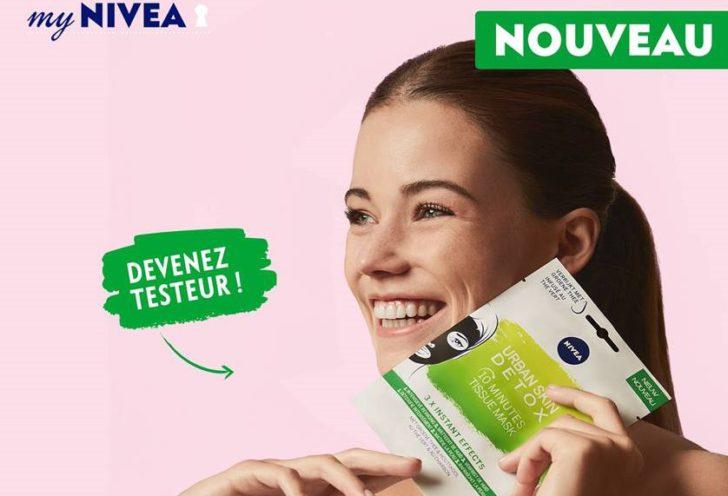 Masque urban skin detox Nivea