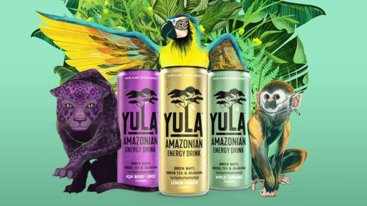 3 boissons Yula Energy 100% remboursées