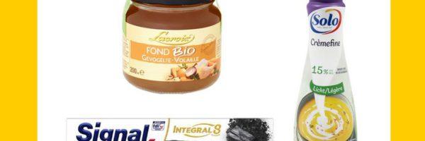 3 articles 100% remboursés chez Carrefour