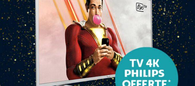 VOO vous offre une TV Philips gratuite