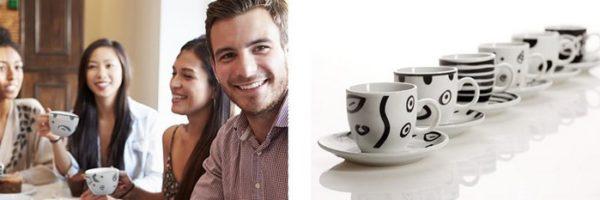 Service à café 12 pièces gratuit chez Unigro