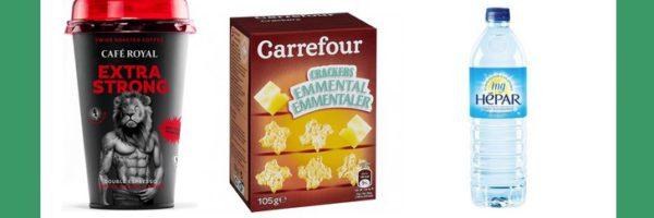 Produits Café Royal, Carrefour et Hépar 100% remboursés