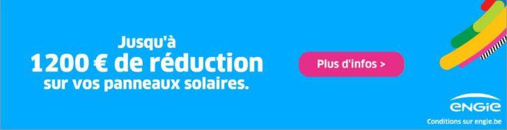 1200€ de réduction sur vos panneaux solaires avec Engie