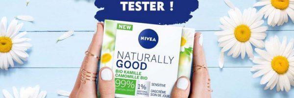 Testez gratuitement la crème Naturally Good de Nivea