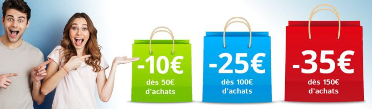 Réductions immédiates chez Unigro : jusqu'à -35€