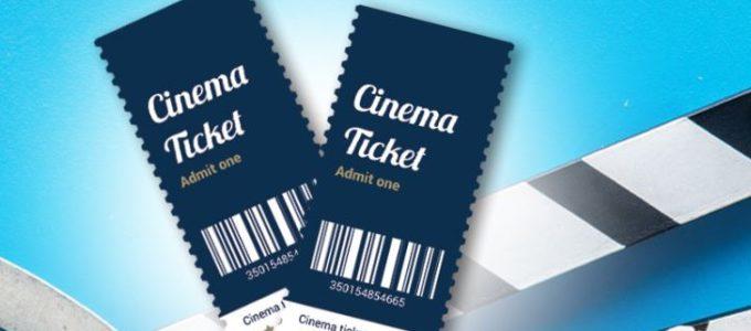 Remportez des tickets de cinéma chaque semaine