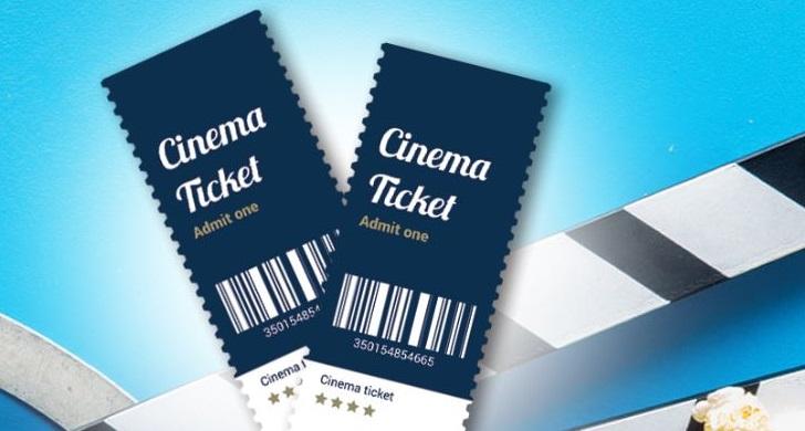 tickets de cinema