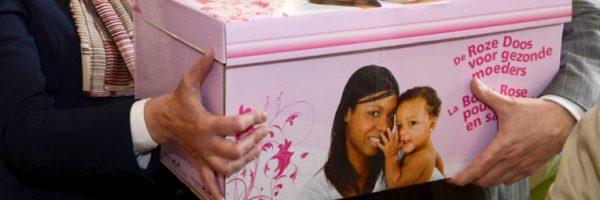 Coffrets gratuits bébé et maternité La Boîte Rose