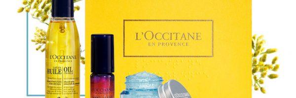 L'Occitane : échantillons gratuits à chaque commande