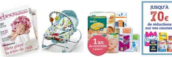 Magazine digital gratuit et transat bébé à gagner