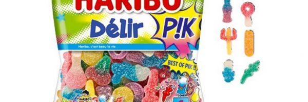 Bonbons Haribo Délir'Pik 100% remboursés