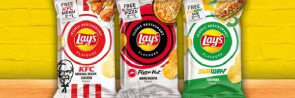 Nouveaux chips Lay's gratuits