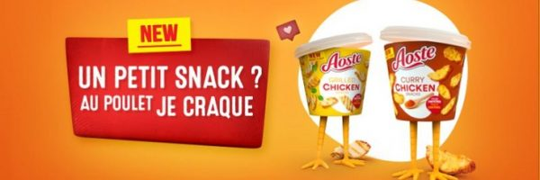 Aoste Chicken Snacks 100% remboursés
